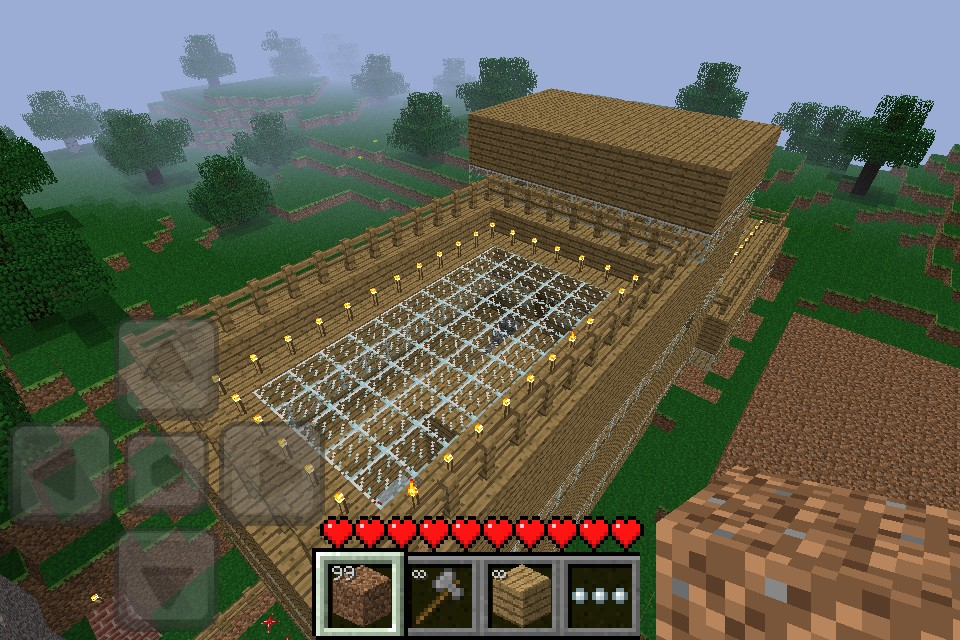 Minecraft pe modern mansion minecraft project for Modern house minecraft pe