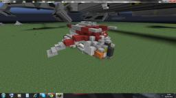 Star Wars LAAT Republic Gunship (Zeppelin mod compatible) Minecraft Map & Project