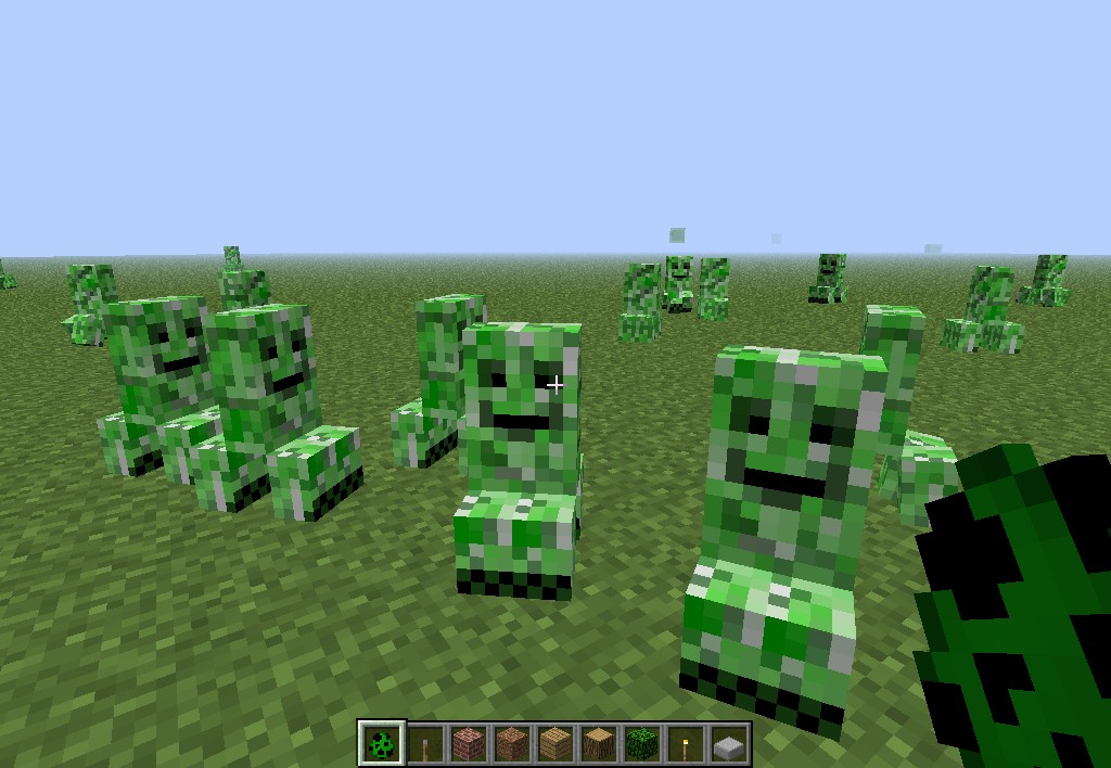 ***BABY CREEPERS PACK*** Minecraft Texture Pack