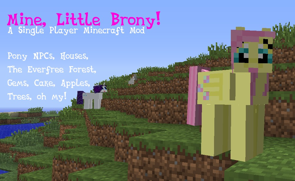 Mine little pony mod download 1. 10. 2/1. 9. 4 file-minecraft. Com.