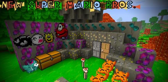 Super`Mario`Craft °Texture pack Edit Rights `1.2.5, Original. Minecraft Texture Pack