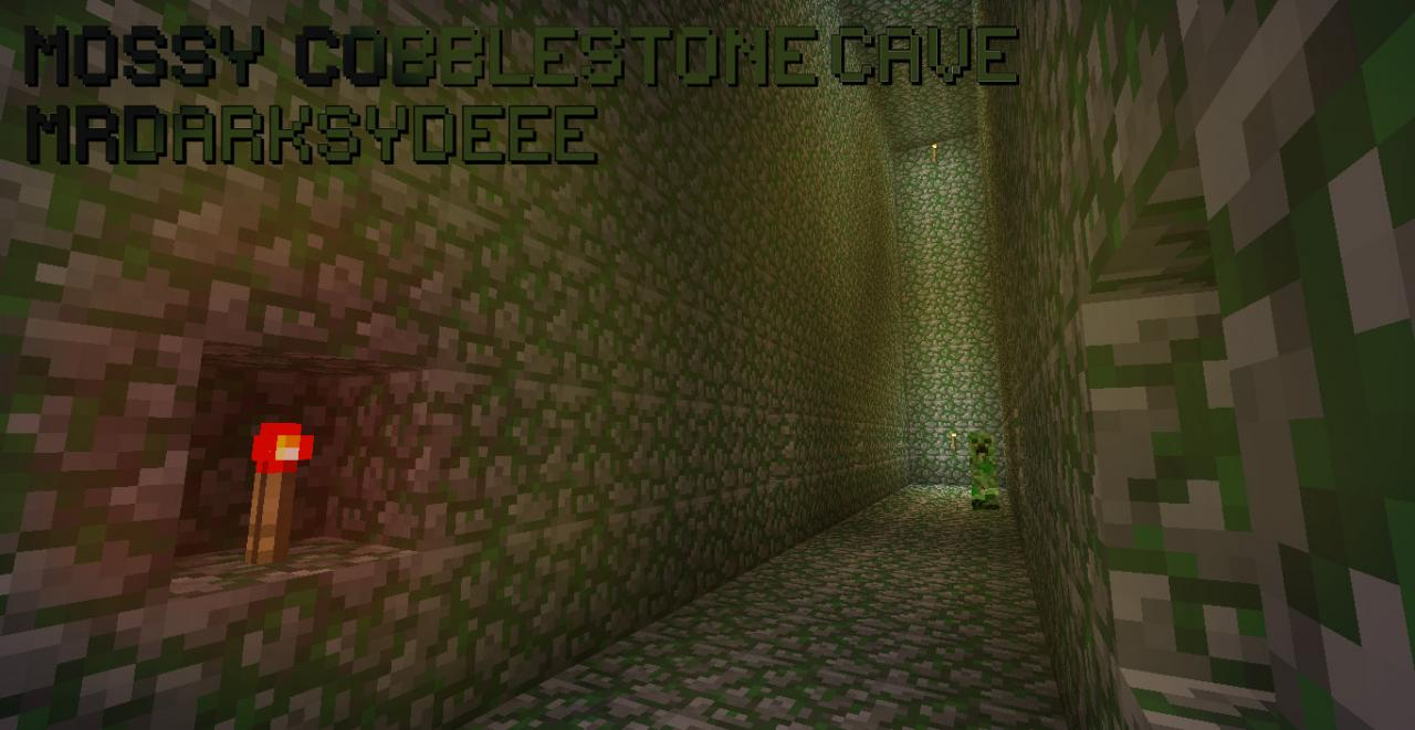 How To Craft Mossy Cobblestone In Minecraft