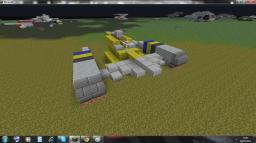 Star Wars N-1 Star Fighter (zeppelin mod compatible) Minecraft Map & Project