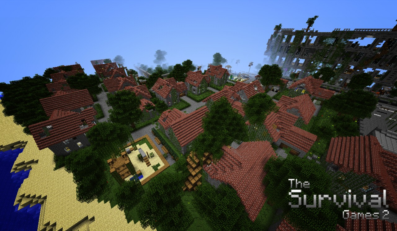 Amazing Mcpe Hunger Games Map Download Galleries - Printable Map ...