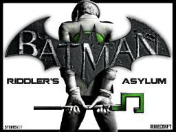 [WIP] Batman: Riddler's Asylum Custom (Adv/Puz) Map! Minecraft Map & Project