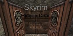 Skyrim hidden door in minecraft! Minecraft Map & Project