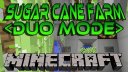 Minecraft Duo Mode Sugar Cane Farm - How to make a Full Automatic Reeds Farm Minecraft Map & Project