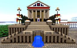 Portal Temple Minecraft Map & Project