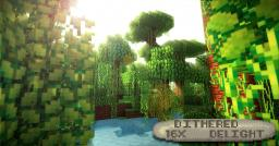 Dither Delight V0.8 Minecraft Texture Pack