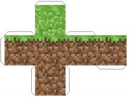 Faire de l'herbe en papier Minecraft Blog
