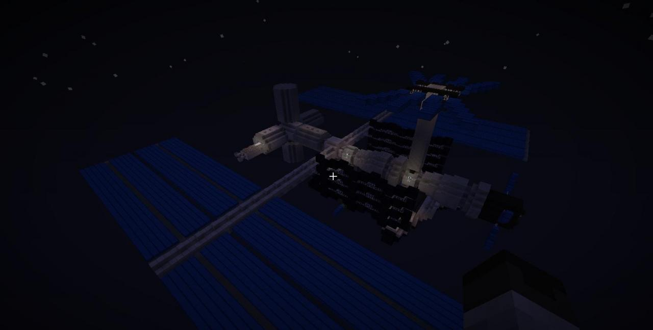 International Space Station (I.S.S.) Minecraft Project