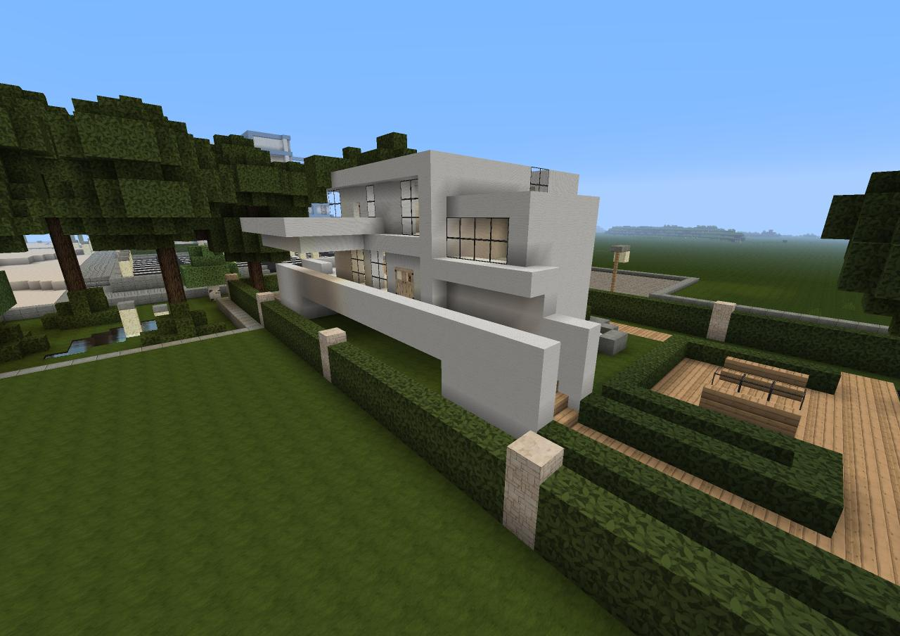 Modern House Nidd Town Minecraft Project