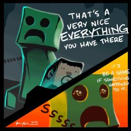 Why we hate Creepers Minecraft Blog