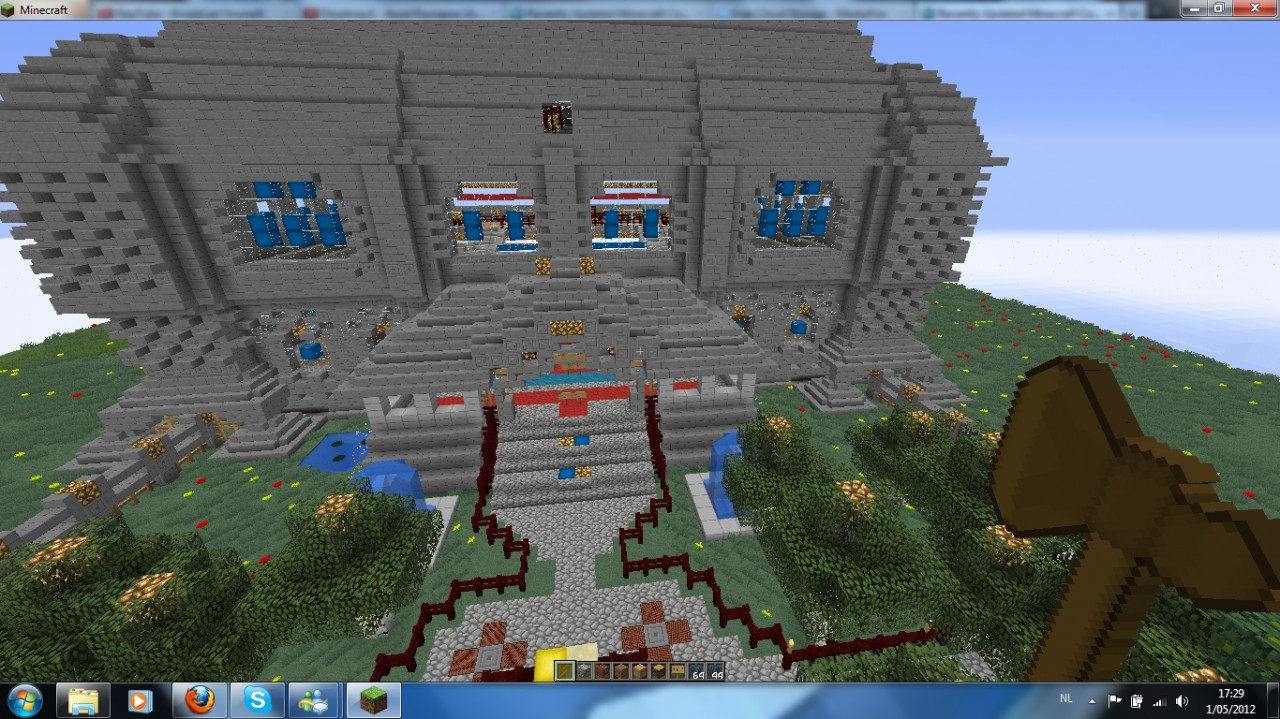Nice spawn house you can use it in your world for Nice house in the world