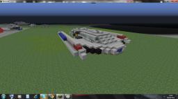 Star Trek Sacajawea Class Runabout (Zeppelin mod compatible) Minecraft Map & Project