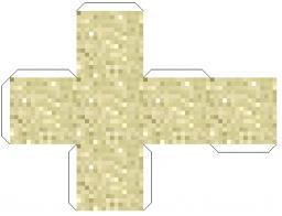 Faire du sable en papier !!! Minecraft Blog