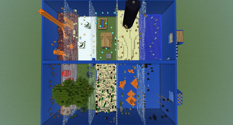 V3 6 1 parkour 12 000 dls played by ssohkpc minecraft project