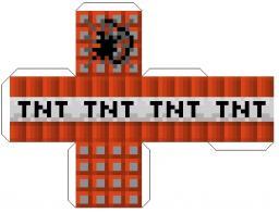 Faire de la TNT en papier !!! Minecraft Blog