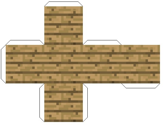 Faire des planches de bois en papier minecraft blog for Planche de bois