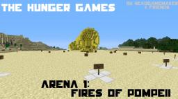 (PVP Map) Hunger Games Arena 1 - The Fires of Pompeii (based on the books) Minecraft Map & Project