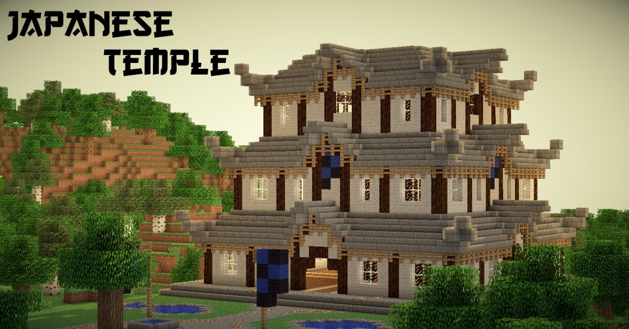 How To Biuld Shalon Temple On Mine Craft