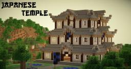 Japanese Temple - High Detail! Minecraft