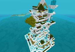Babylon vertical farm Minecraft Map & Project