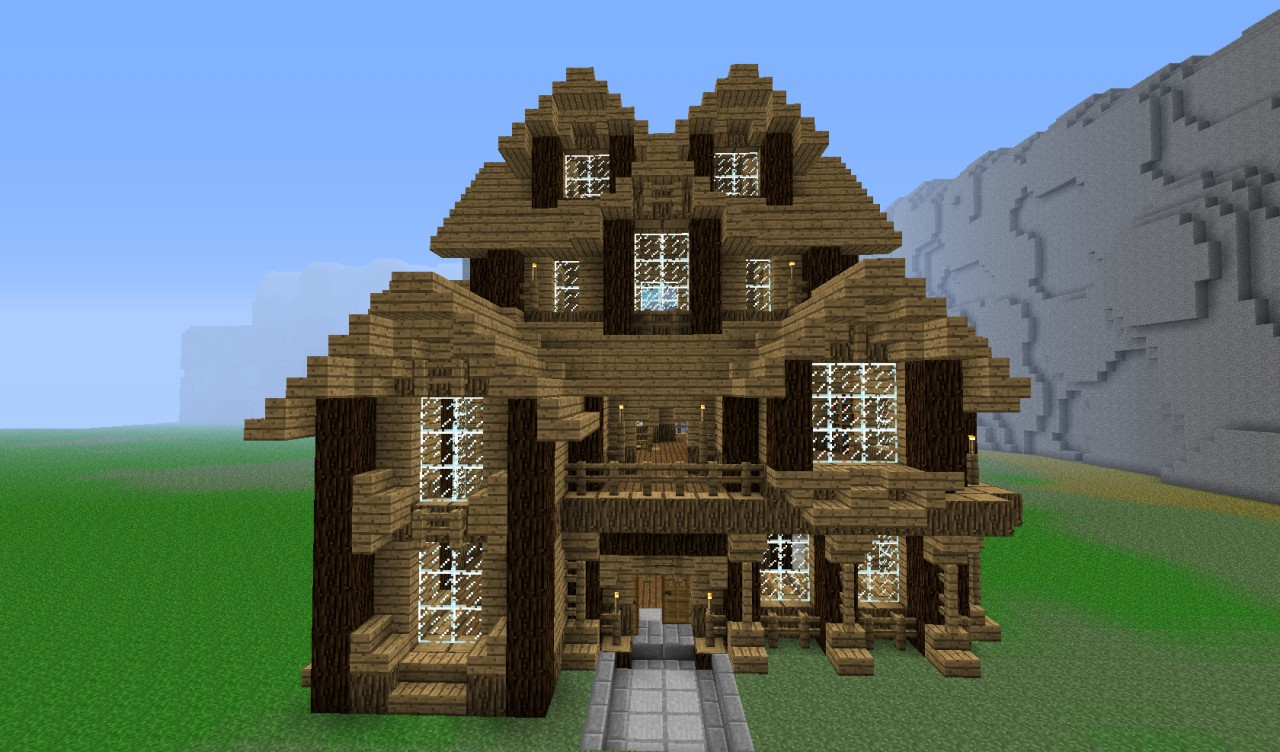 Detailed House Emphasizing The Importance Of Angles