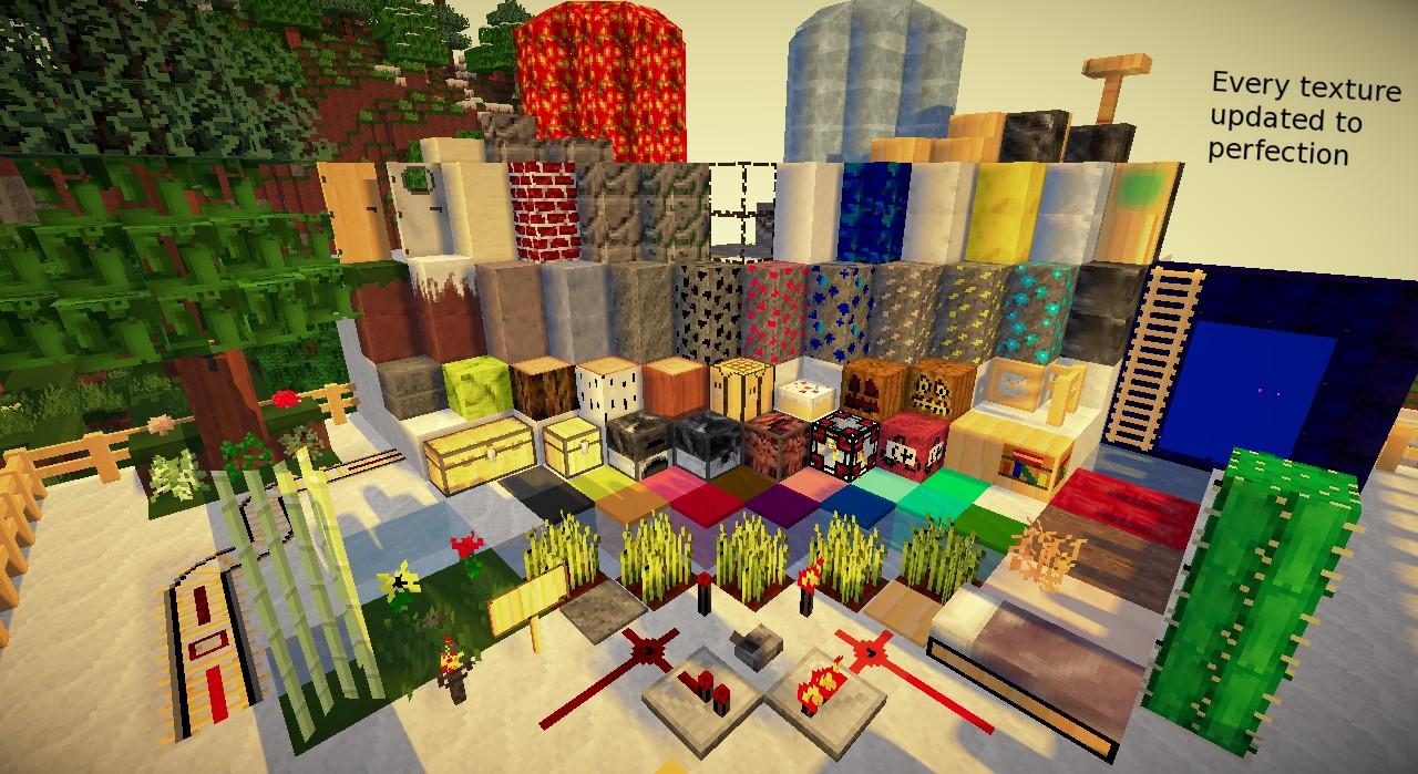 Modern / Medieval 1.2.5 pack Minecraft exture Pack - ^