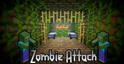Zombie Kingdom Attack 1.0 Minecraft Map & Project