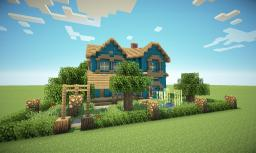 Victorian House in a different colour Minecraft