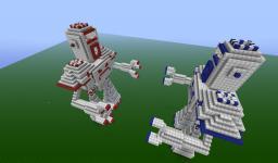 Minecraft: Robot Wars Minecraft Map & Project