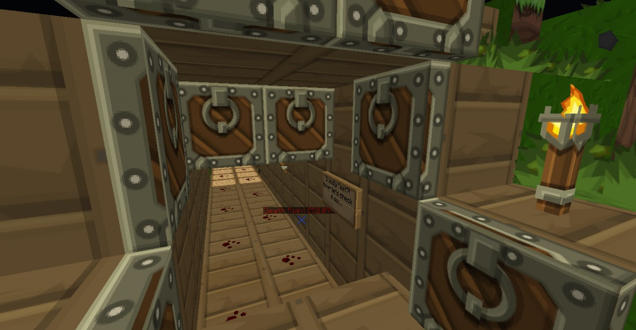 Bloody footsteps? o. o....