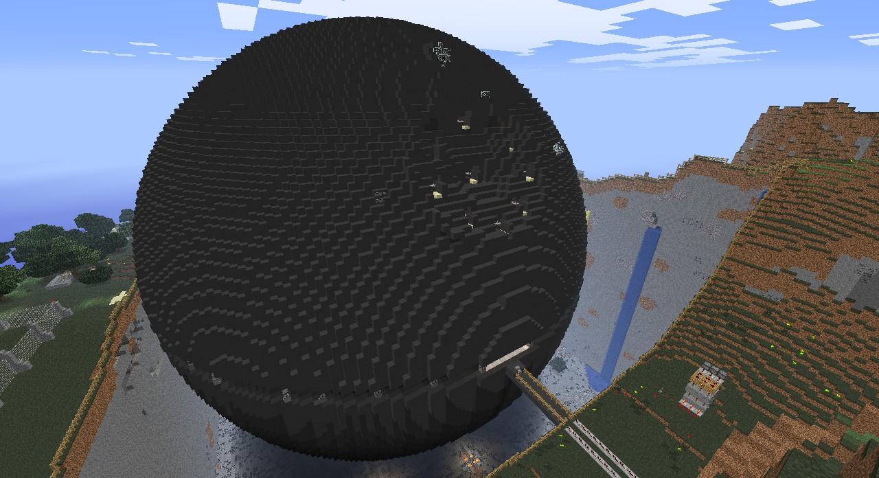 Скачать Карту Звезда Смерти для Minecraft