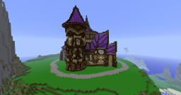 Elven Mansion -Now with Download- Minecraft Map & Project