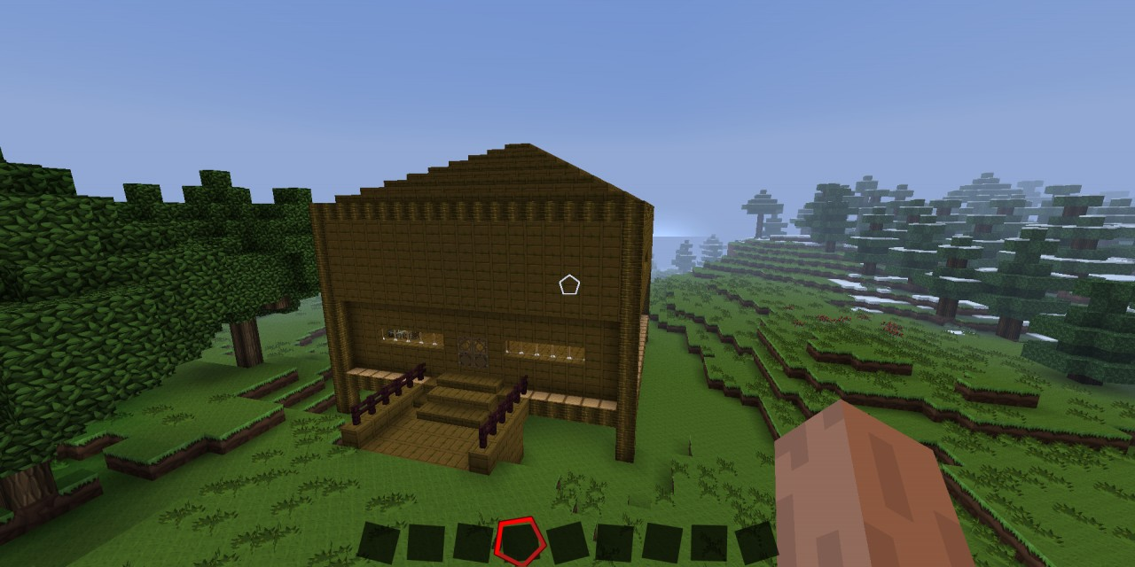 Cool Jungle Wood House Minecraft Project