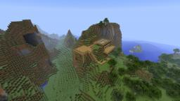 Mount house Minecraft Map & Project