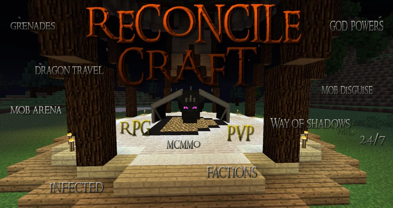 The best PVP and RPG minecraft server Minecraft Server