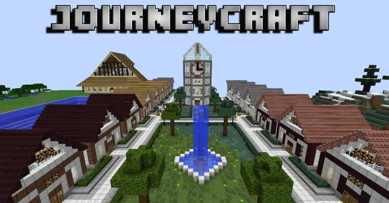 JourneyCraft Economy Towny Server Minecraft Server