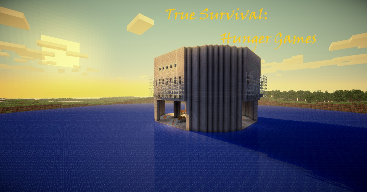 True survival hunger games minecraft project for Mine craft hunger games