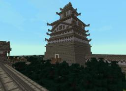 Asian Styled Castle Minecraft Map & Project