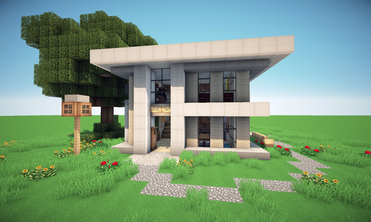 Modern neighborhood on world of keralis minecraft project world save gumiabroncs Images