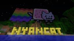 Nyan cat :3 Minecraft
