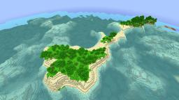[Naturally created] Beautiful island [-6772738824415603319] Minecraft Map & Project