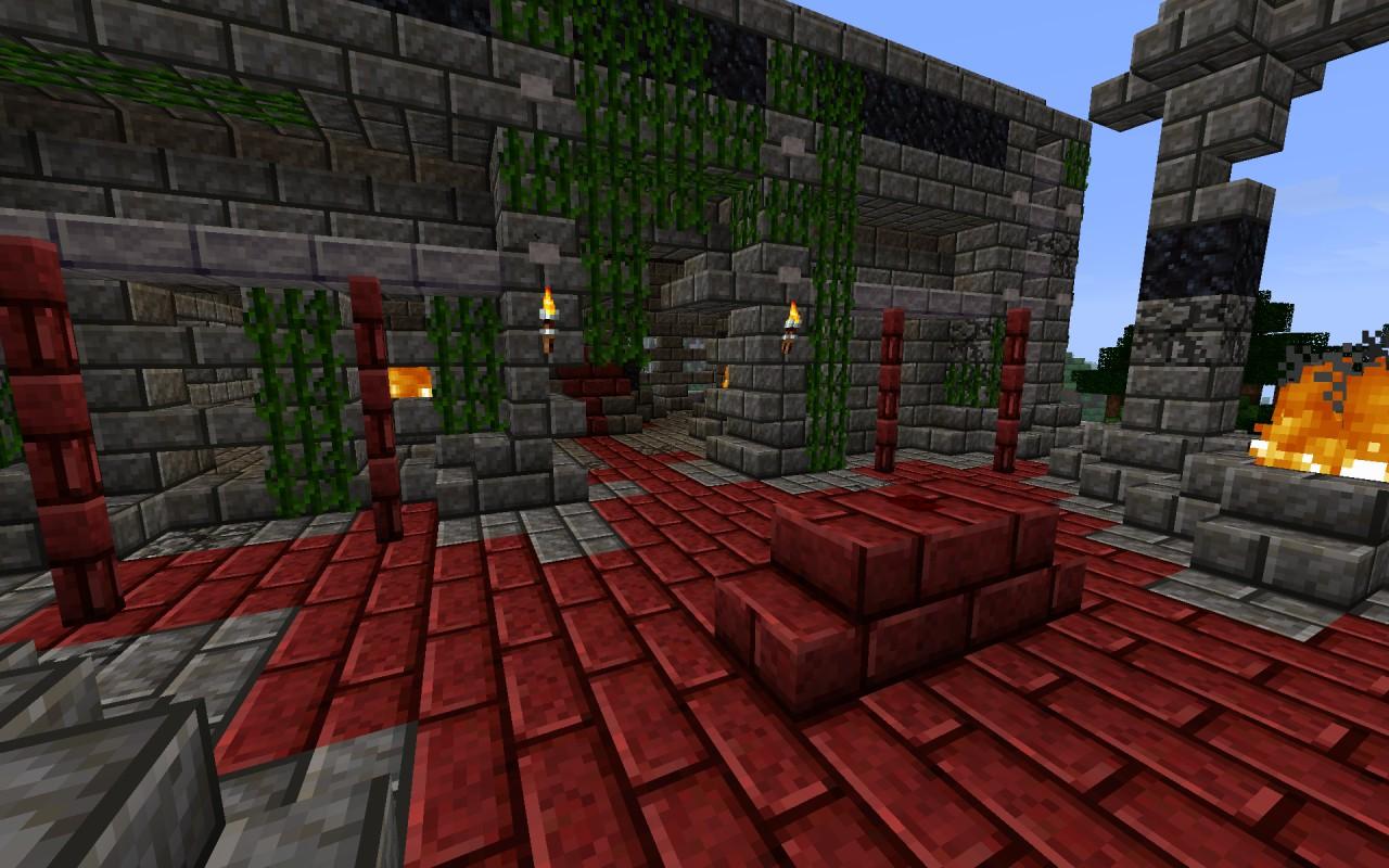 Sacrificial Altar  alternative view Aztec Sacrificial Altar