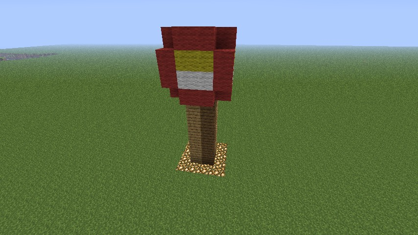 MC Pixel Art Redstone Torch