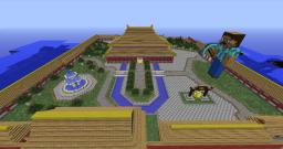 Chinese town. Minecraft Map & Project