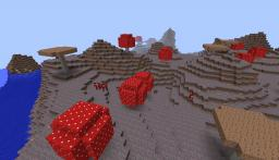 NEW HUGE Mushroom Biome Seed!!! OVER 2,000 VIEWS!!! Minecraft Map & Project