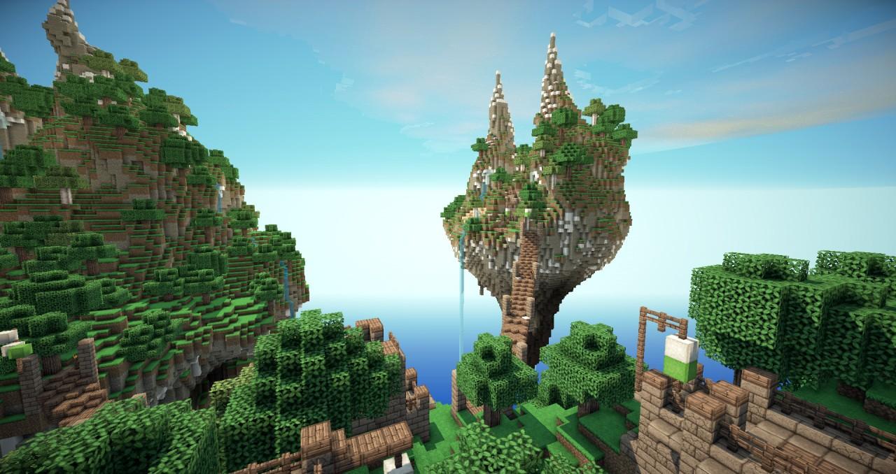 Скачать карты для Minecraft 1.12