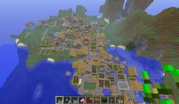 Huge npc village Minecraft Map & Project